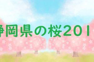 静岡県の桜2019